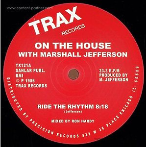 On The House With Marshall Jefferson - Ride The Rhythm