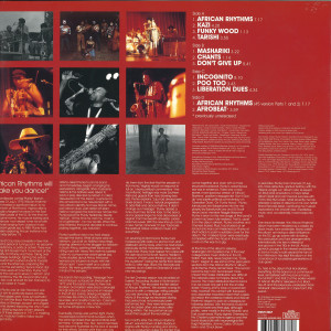 Oneness Of Juju - African Rhythms (Remastered 2LP) (Back)