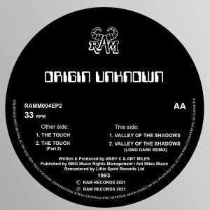 Origin Unknown - The Touch / Valley of the Shadows (1993)
