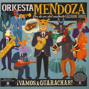 Orkesta Mendoza - Vamos a Guarachar (LP)