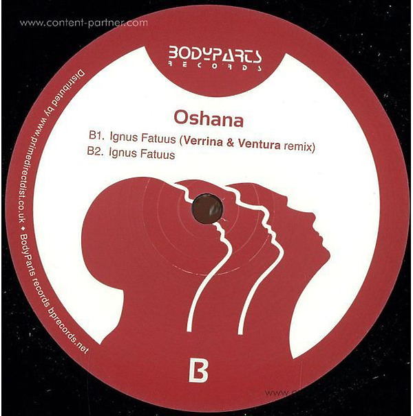 Oshana - Viparinama EP (Vinyl Only) (Back)