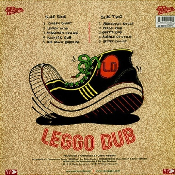 Ossie All-Stars - Leggo Dub (Reissue) (Back)