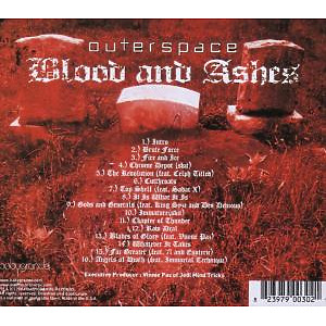 Outerspace - Blood & Ashes (Back)
