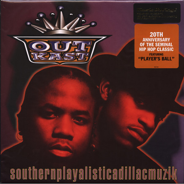 Outkast - Southernplayalisticadillacmuzik (180g Reissue LP)