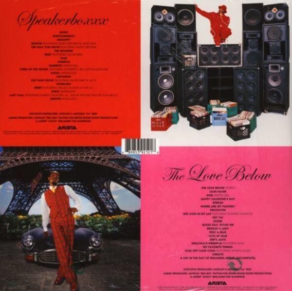 Outkast - Speakerboxx/The Love Below (4LP) (Back)