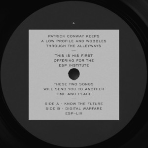 PATRICK CONWAY - KNOW THE FUTURE