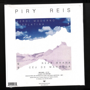 PIRY REIS - PIRY REIS (2x7'') (Back)