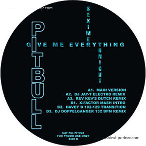 PITBULL/ NE-YO/ AFROJACK/ NAYER - GIVE ME EVERYTHING (TONIGHT)