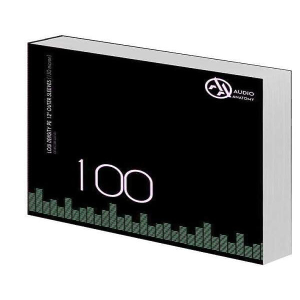 """PVC Outer Sleeves - 100 x 12"""" PE Outer Sleeves (130 Micron)"""