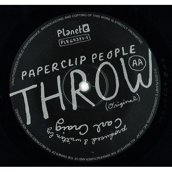 Paperclip People / LCD Soundsystem - Throw (Reissue)