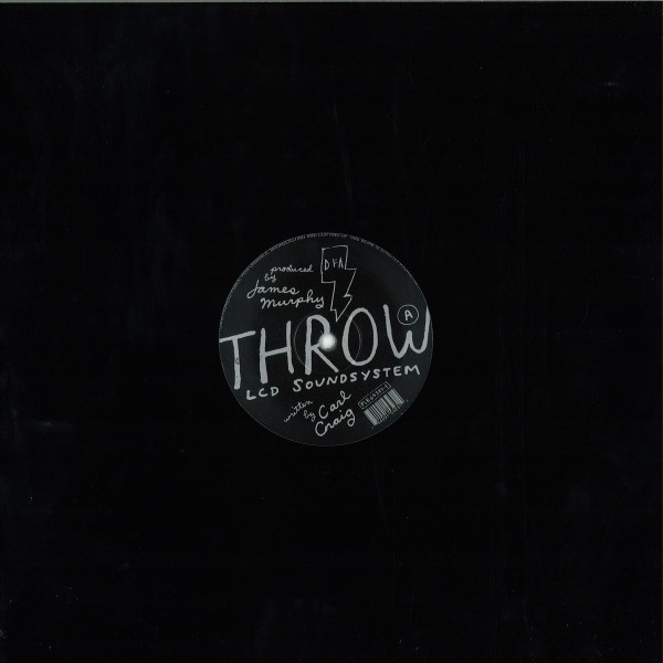 Paperclip People / LCD Soundsystem - Throw (Reissue) (Back)