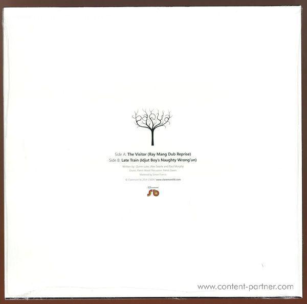 Paqua - The Dubs 10'' VINYL (Back)