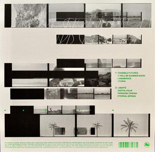 Paradise Cinema - Paradise Cinema (Ltd. Coloured Vinyl LP) (Back)
