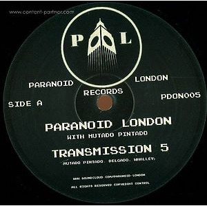 Paranoid London with Mutado Pintado - Transmission 5 (Repress 2015)
