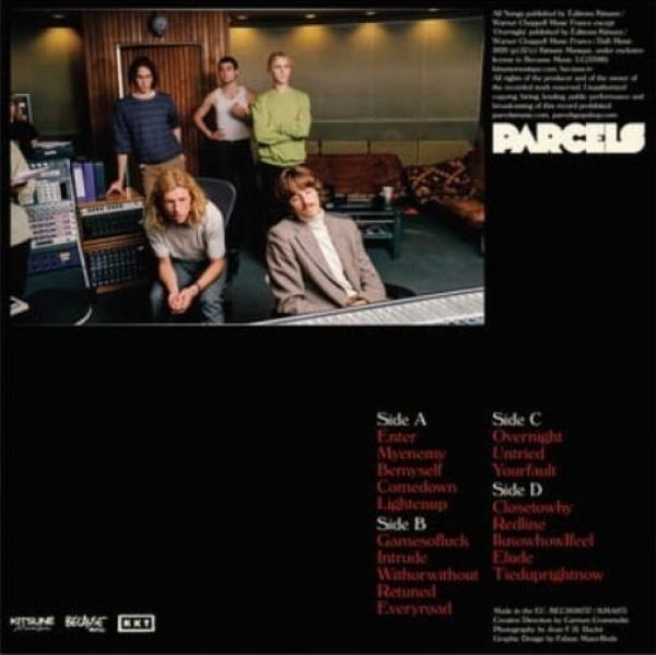 Parcels - Live Vol. 1 (2LP) (Back)