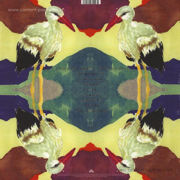 Parekh & Singh - Ocean (LP) (Back)