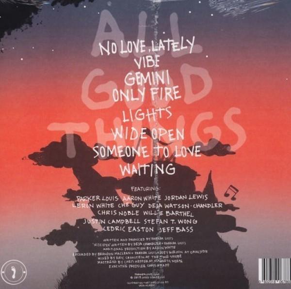 Parker Louis - All Good Thnigs (LP) (Back)