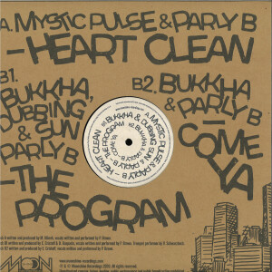 Parly B / Bukkha / Dubbing Sun / Mystic Pulse - Moonshine Recordings meets Parly B downtown (Back)
