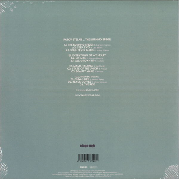 Parov Stelar - The Burning Spider (2LP Reissue) (Back)