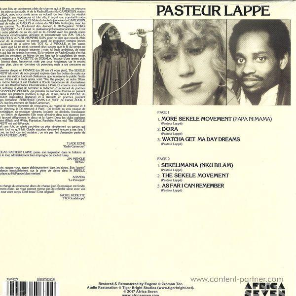 Pasteur Lappe - We, The People (LP Reissue) (Back)