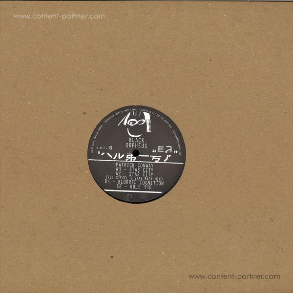 Patrick Conway - ORPHEUS006 (Back)