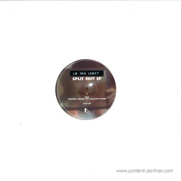 Paul Cut / Lb Aka Labat - Split Shit EP (Repress) (Back)