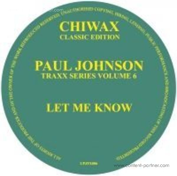 Paul Johnson - Let Me Know