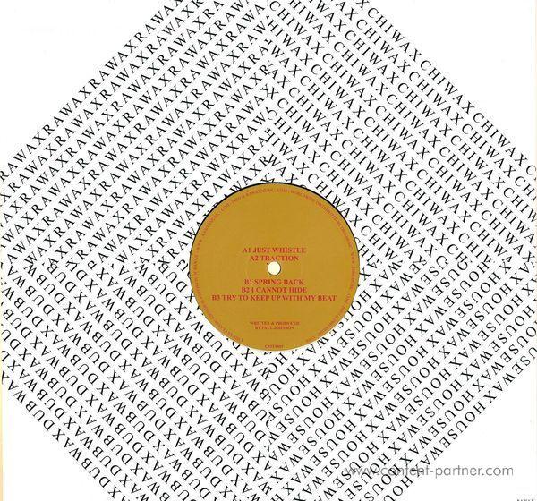 Paul Johnson - Traxx Series Vol. 3 Just Whistle (Back)