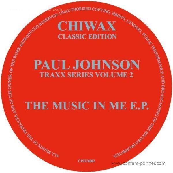 Paul Johnson - traxx series vol. 2 (Back)