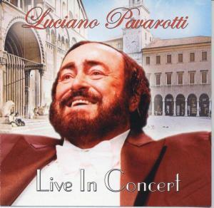 Pavarotti,Luciano - Live In Concert