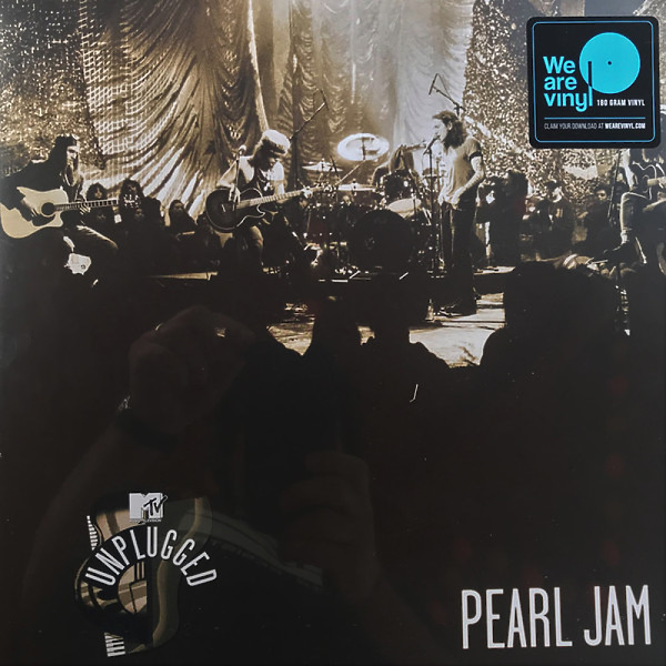 Pearl Jam - MTV Unplugged (Ltd. Reissue) (Back)