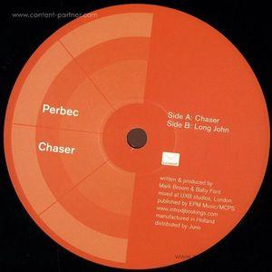 Perbec Aka Mark Broom / Baby Ford - Chaser (reissue) (orange vinyl)