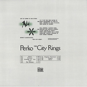 Perko - The City Rings (Back)