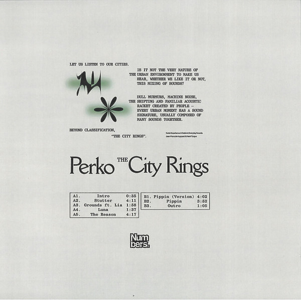 Perko - The City Rings (Back)