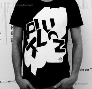 Perlon - Labelshirt Black Size L