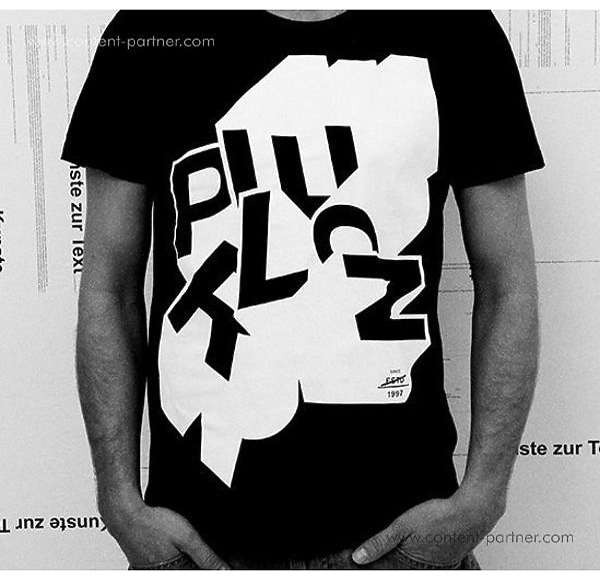 Perlon - Labelshirt Black Size M