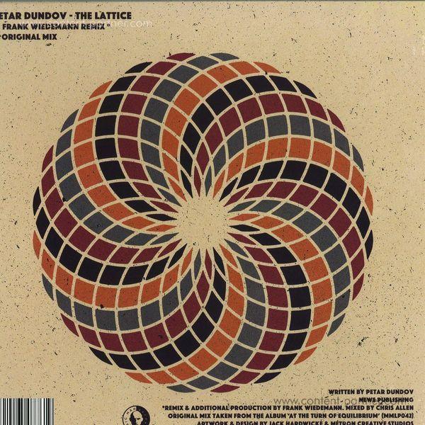 Petar Dundov - The Lattice (incl. Frank Wiedemann Rmx) (Back)