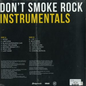 Pete Rock - Don't Smoke The Rock Instrumentals (Back)