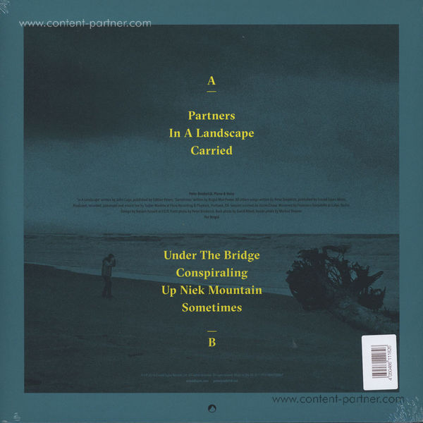 Peter Broderick - Partners (LP + MP3) (Back)