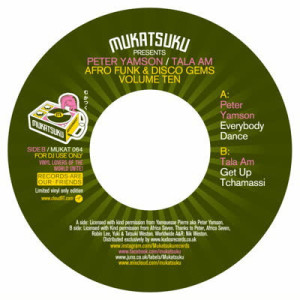 Peter Yamson / Tala A.M. - Afro Funk & Disco Gems Vol.10