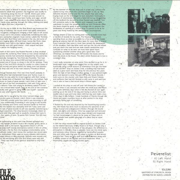 Peverelist - IDLE050 (Back)