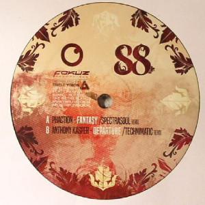 Phaction / Anthony Kasper - Fantasy / Departure Remixes (Back)