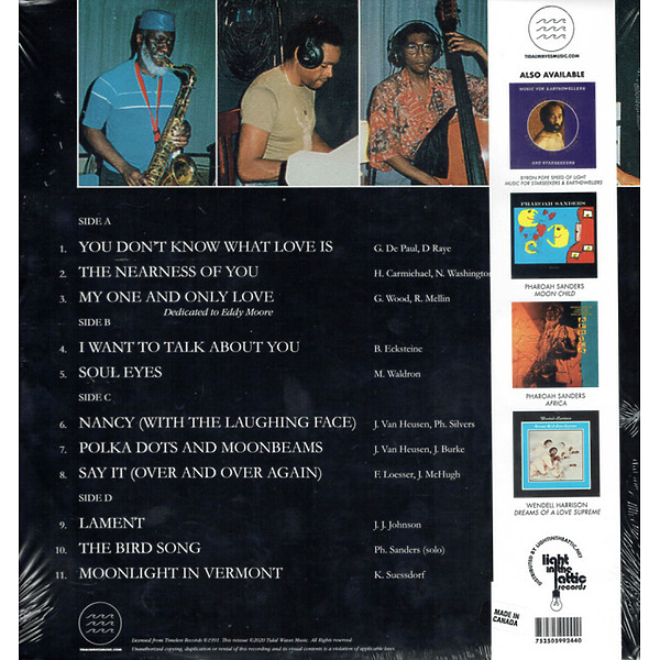 Pharoah Sanders - Welcome to Love (2LP) (Back)