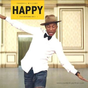 Pharrell Williams - Happy (Yellow Vinyl) (back in]