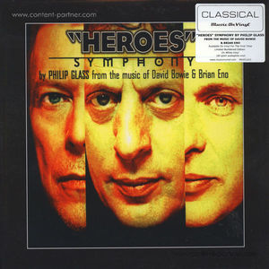 Philip Glass - Heroes Symphony (LP)
