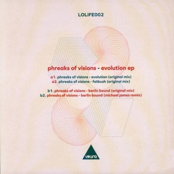 Phreaks of Visions - EVOLUTION (MICHAEL JAMES RMX) (Back)