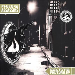 Phuture Assassins - Back To The Phuture EP (Splatter Vinyl)