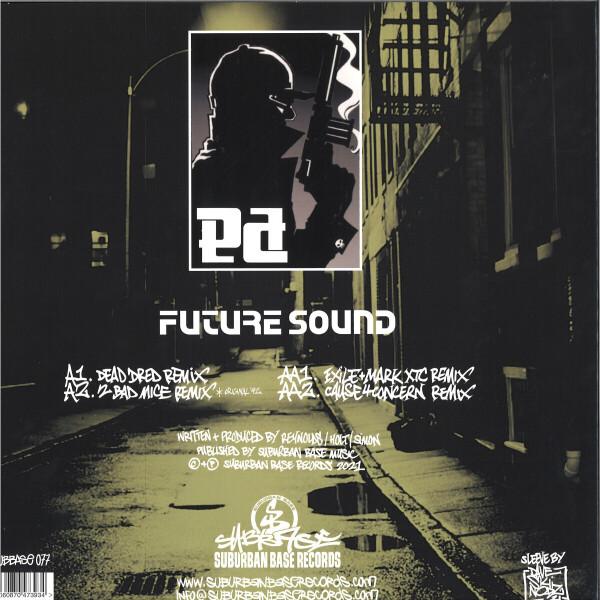 Phuture Assassins - Back To The Phuture EP (Splatter Vinyl) (Back)
