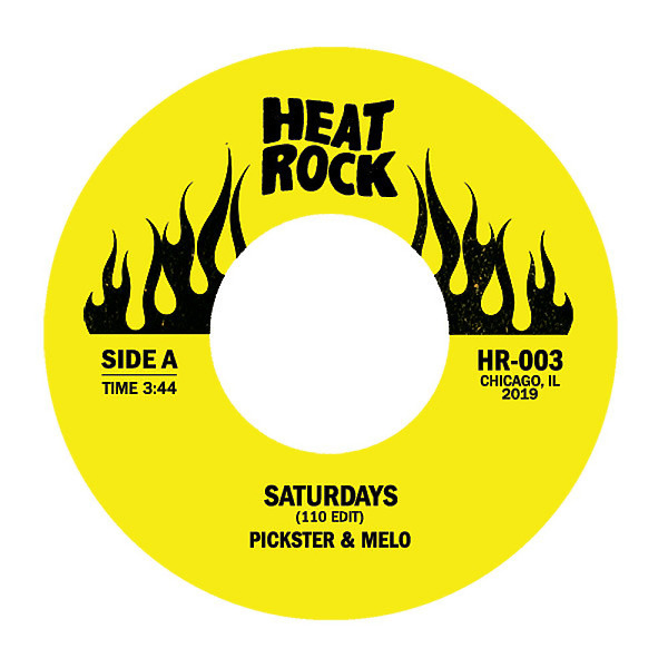 Pickster One, DJ Melo, Altered Tapes - Saturdays (110 Edit) / It's Like Butter (7