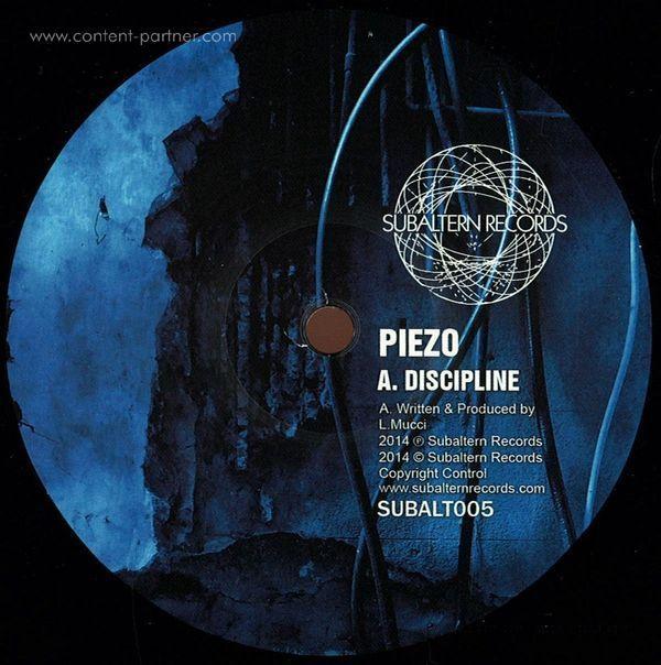 Piezo - Discipline Ep